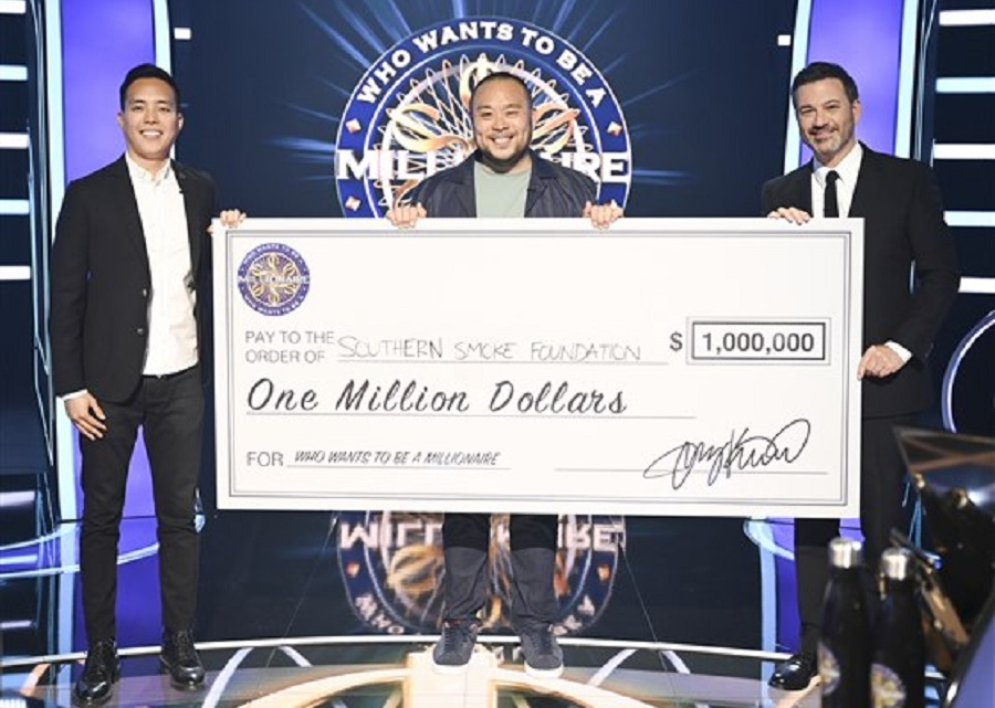 Chef David Chang Becomes First Celebrity to Win 'Who Wants To Be A Millionaire'